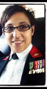 Gunnery Sergeant Barbie Ritzco USMC, a 20 year veteran